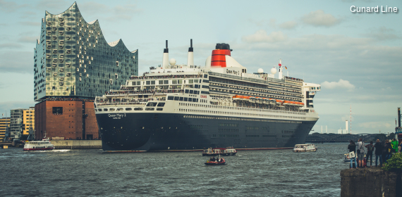 Cunard Reise Queen Mary 2