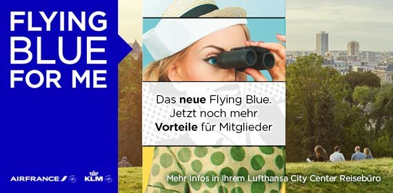 Air France – Flying Blue for me